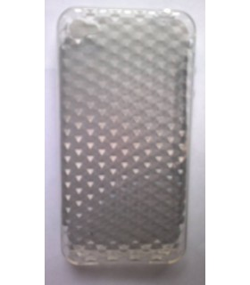 funda para iphone 4g silicona gris