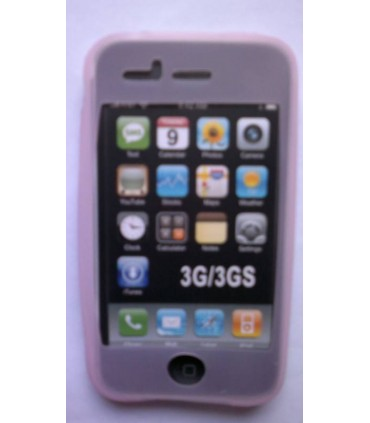Funda iphone 3G/3Gs, Rosa clarito