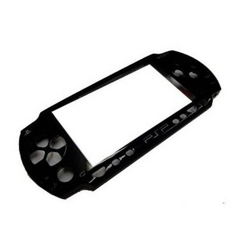PSP 3000 Carcaça Frontal Preta