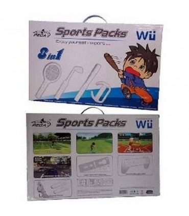 WII Pack Deporte 8 en 1