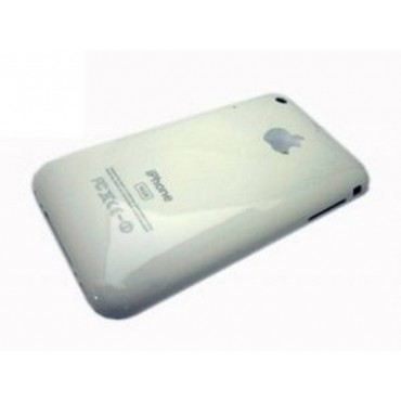 iPhone 3G 8GB carcasa trasera, tapa bateria blanca