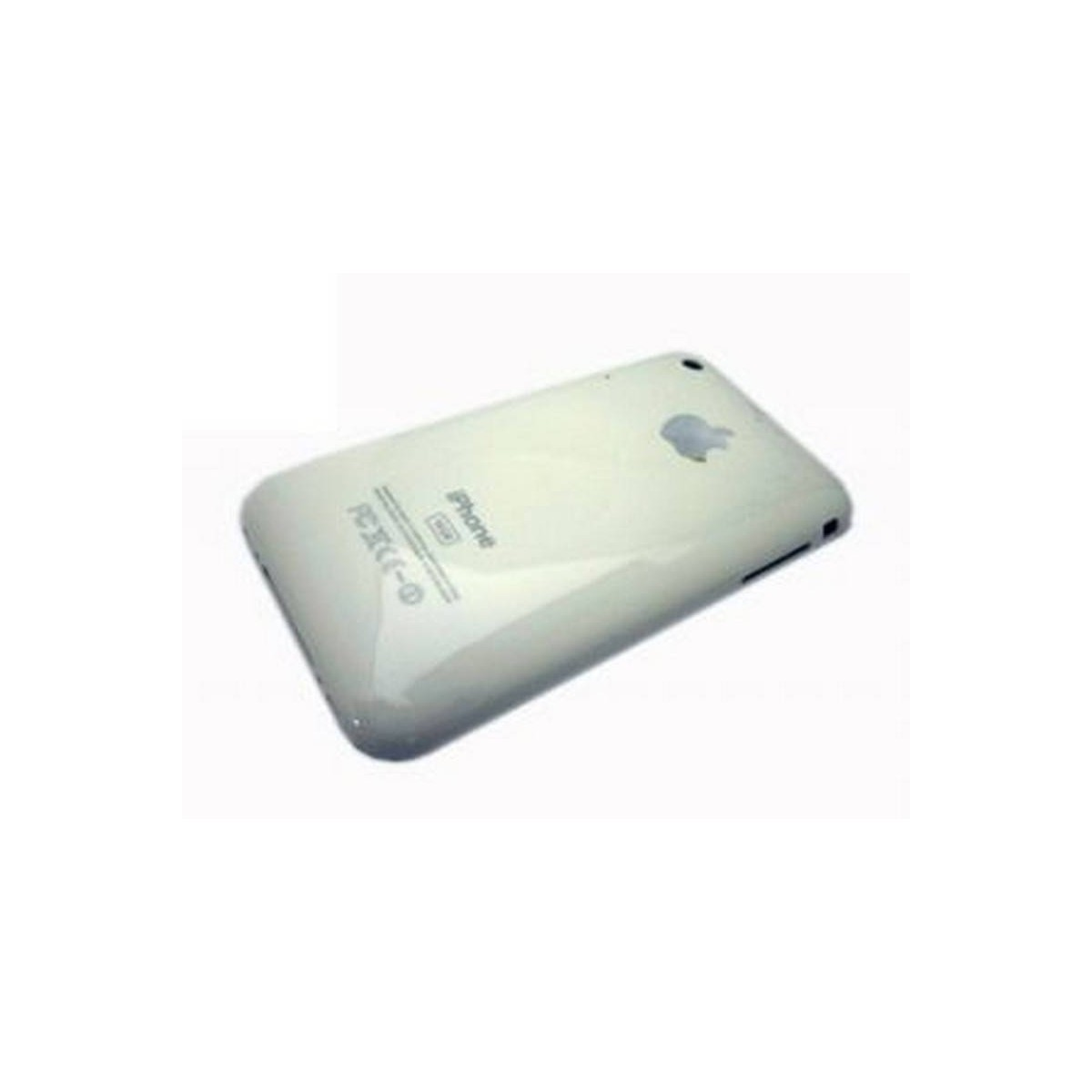 iPhone 3G 8GB carcaça traseira, tapa bateria branca