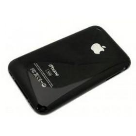 iPhone 3G 16GB carcasa trasera, tapa bateria negra