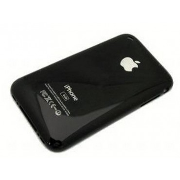 iPhone 3Gs 16GB carcasa trasera, tapa bateria negra