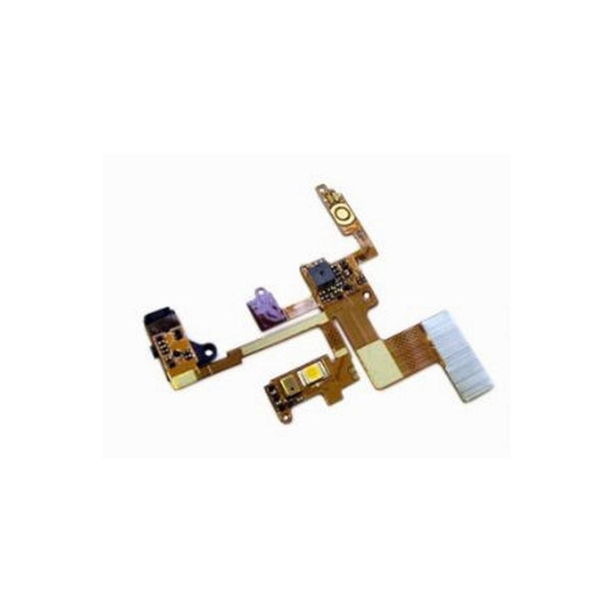 LG BL40 Cabo flex com LED flash, jack, interruptor de encendido