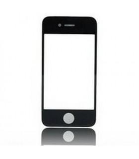 ipod 4 ventana externa cristal negro