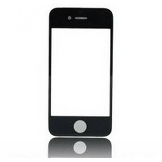 ipod 4 ventana externa cristal preto