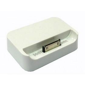 iPhone 4 cargador de sobremesa, dockingstation blanco