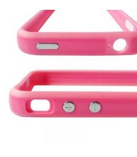 iPhone 4G funda GEAR4 ROSA, solo cubre el marco metalico BUMPER ROSA