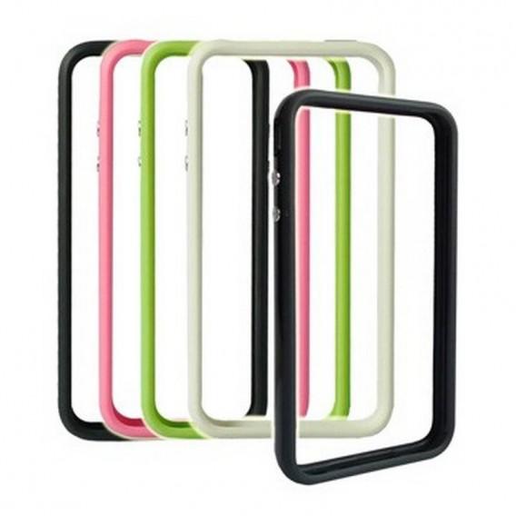 iPhone 4G funda GEAR4 VERDE, solo cubre el marco metalico BUMPER VERDE