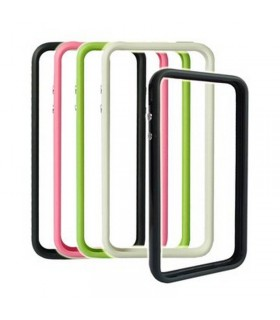 iPhone 4G funda GEAR4 NARANJA, solo cubre el marco metalico BUMPER NARANJA