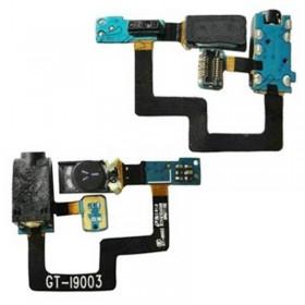 Samsung GT-I9003 altavoz auricular con cable Flex, sensor de proximidad y conector auriculares