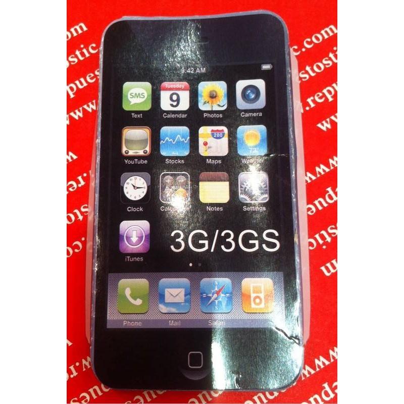 funda silicona iphone 3G/3Gs VERDE