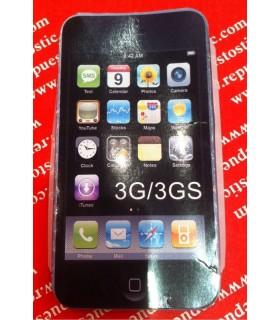 FUNDA SILICONA SAMSUNG 3G/3Gs AZUL