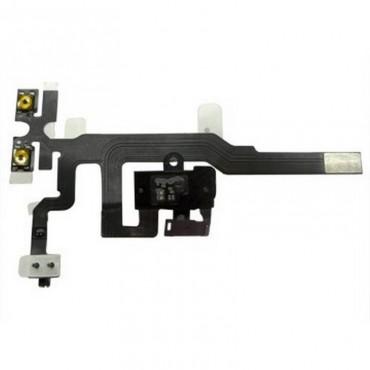 iPhone 4S 4SG fone de ouvido, CIRCUITO de cabo, PRETO,