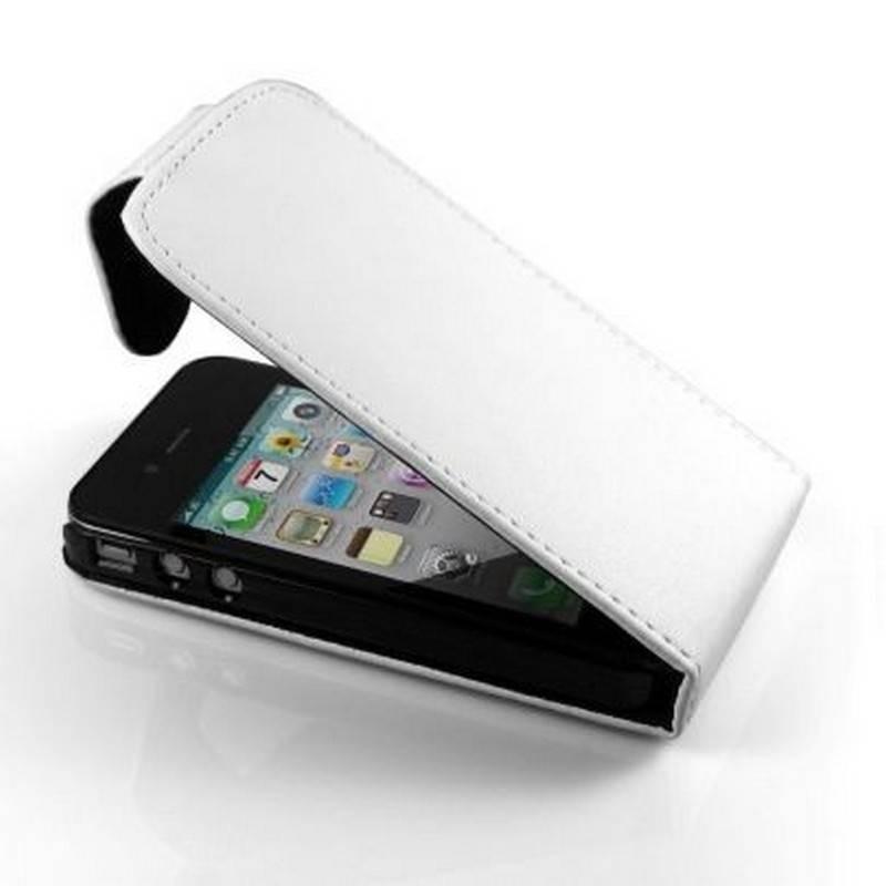 Funda iphone 4G/S DE TAPA , COLOR BLANCO