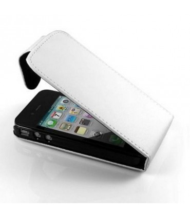 Funda iphone 4G/S de tapa , color blanco