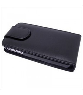 Funda iphone 4G/S de tapa cor preto