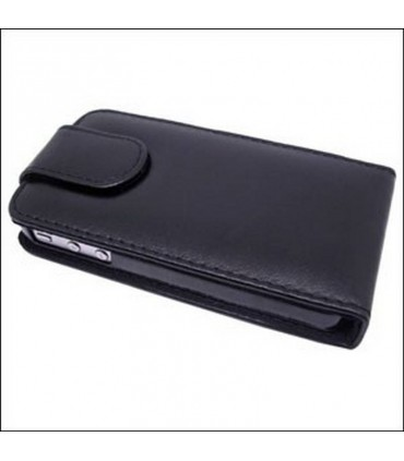 Funda iphone 4G/S de tapa color negro