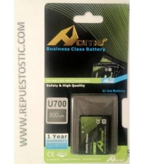 bateria para Samsung U700, L760, E210, Z370, Z560, Z620, Z720