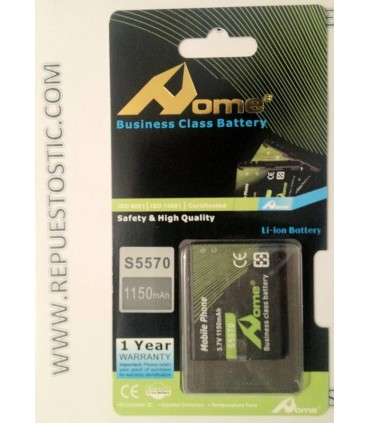 bateriaS para Samsung Galaxy MINI S5570, S5330 WAVE 533, Galaxy 551 I5510, WAVE 525 S5250, WAVE 723 S7230