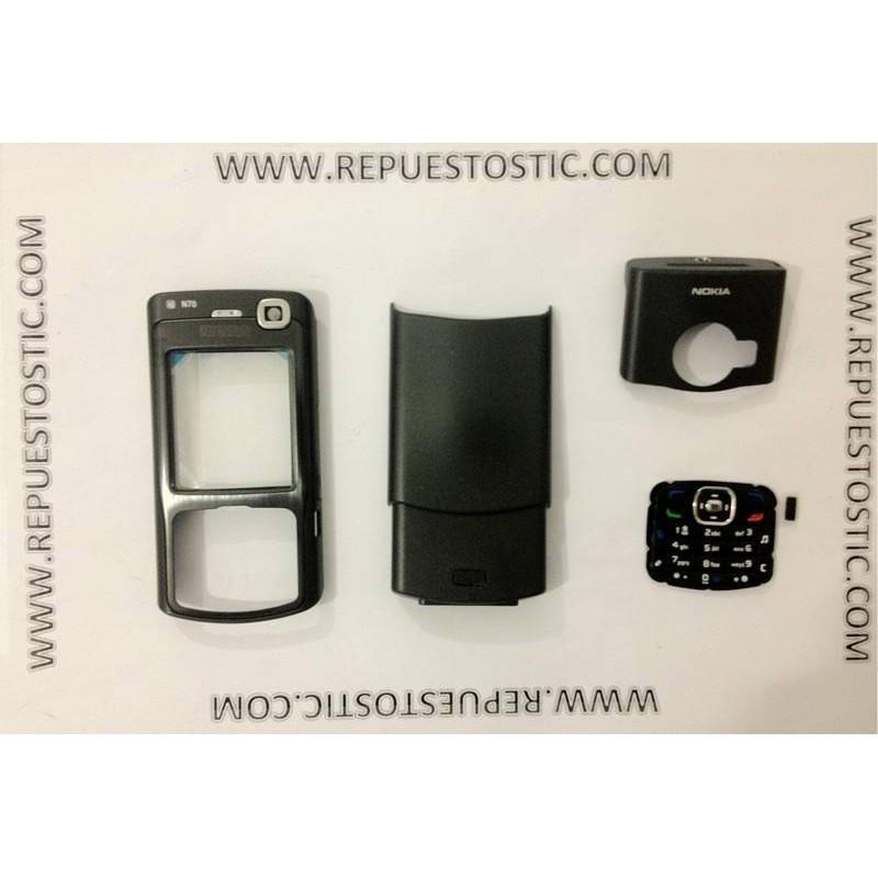Carcasa Nokia N70 Negra
