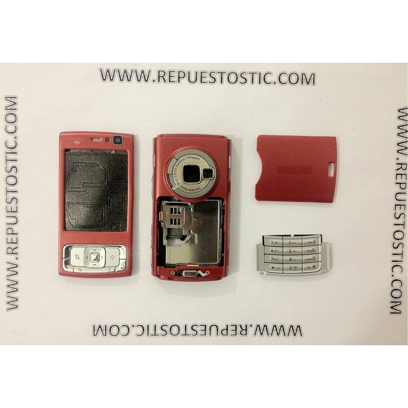 Carcaça Nokia N95 ROJA Completa
