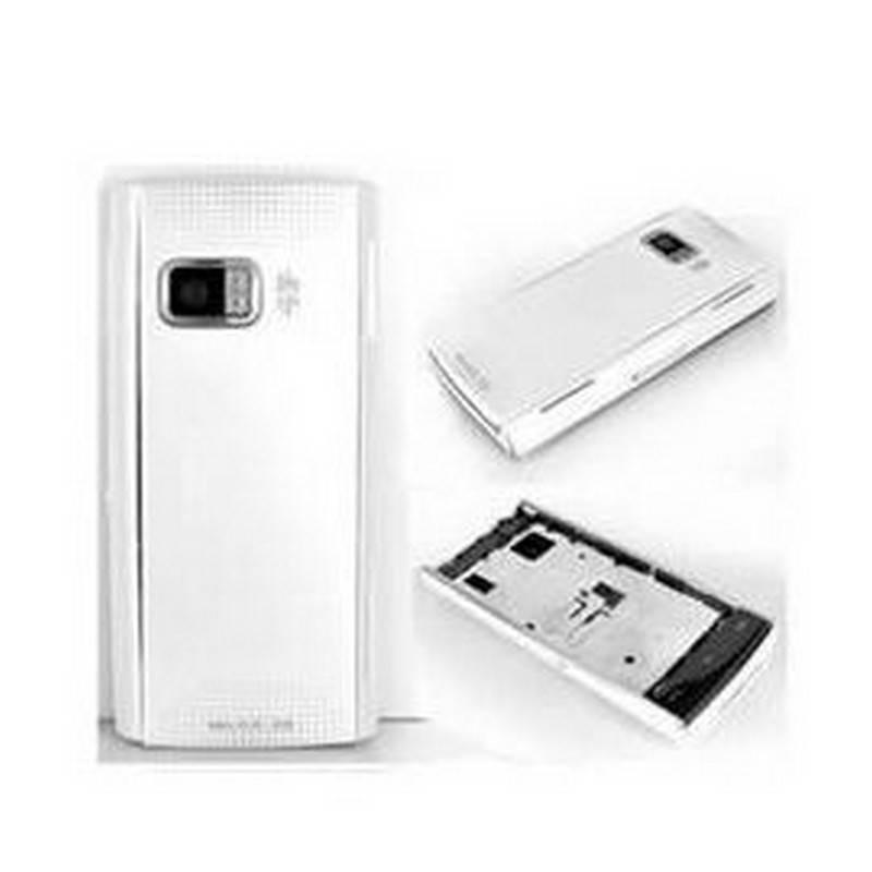 Carcasa Nokia X6 color blanco