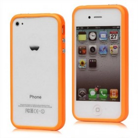 Bumper iphone 4/S naranja