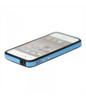 Bumper iphone 4/S azul com preto