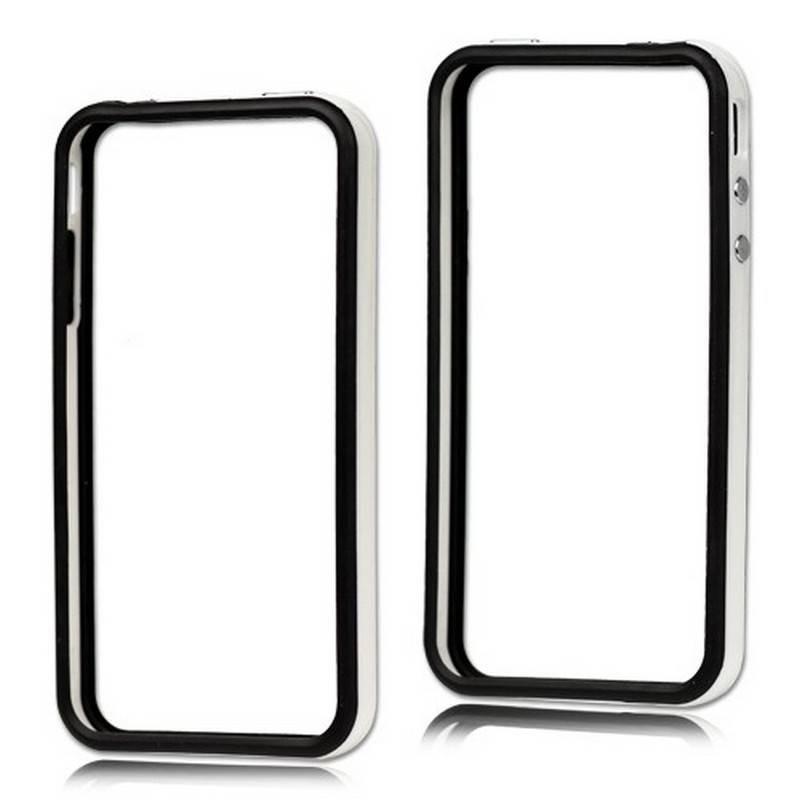 Bumper iphone 4/S branco com preto