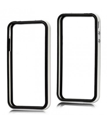 Bumper iphone 4/S blanco con negro