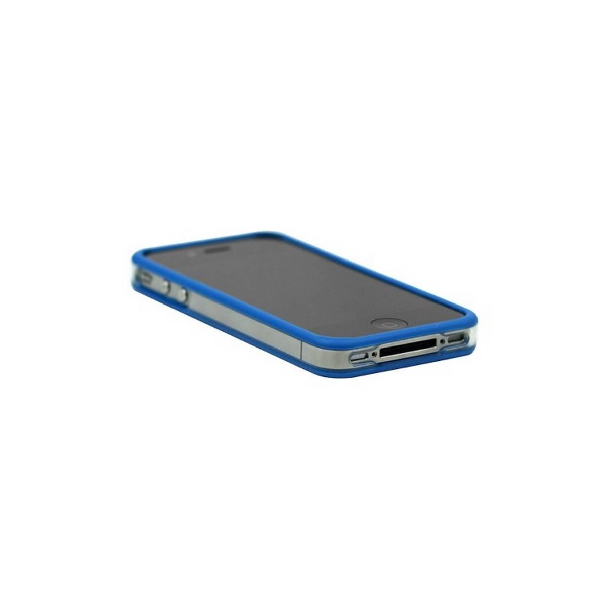 Bumper iphone 4/S azul con transparente