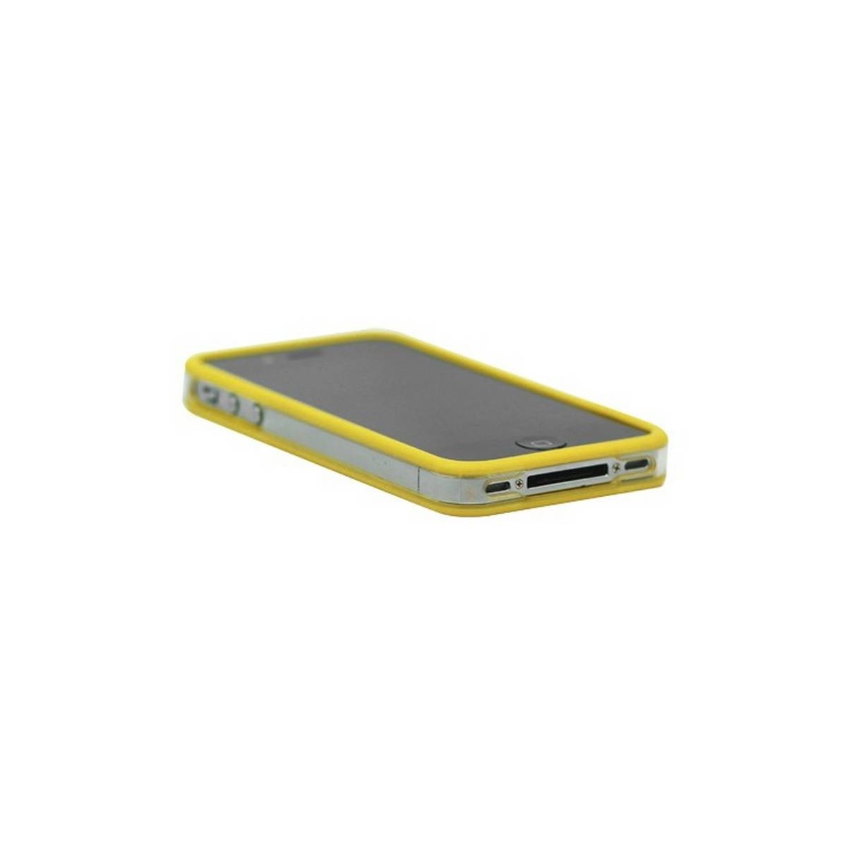Bumper iphone 4/S amarillo con transparente