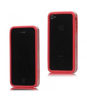 Bumper iphone4/S rojo com transparente