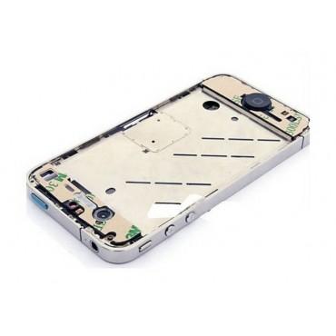 Carcasa trasera COMPLETA, chasis central y antenas de iPhone 4S