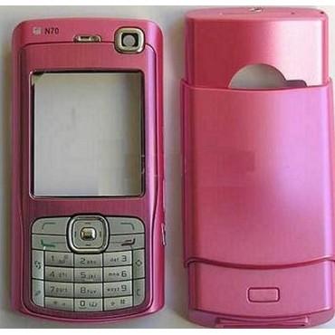Carcaça Nokia N70 Rosa