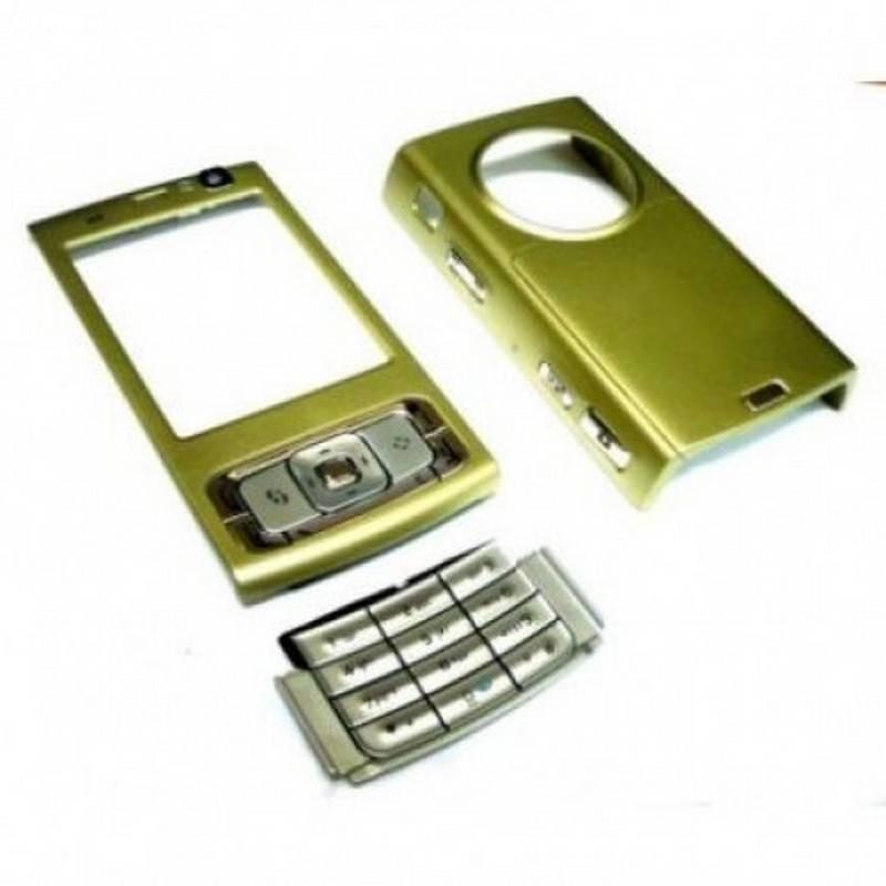Carcasa Nokia N95 4GB COMPLETA Color ORO