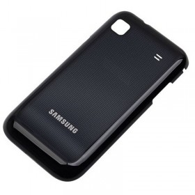 Carcaça traseira preta para Samsung GT-I9003 Galaxy SCL, SL