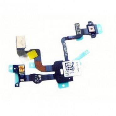 Cable flex con sensor de luz e interruptor de encendido para iPhone 4S