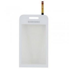 Samsung S5230 digitalizador ventana, pantalla tactil, ventana LCD color BLANCO