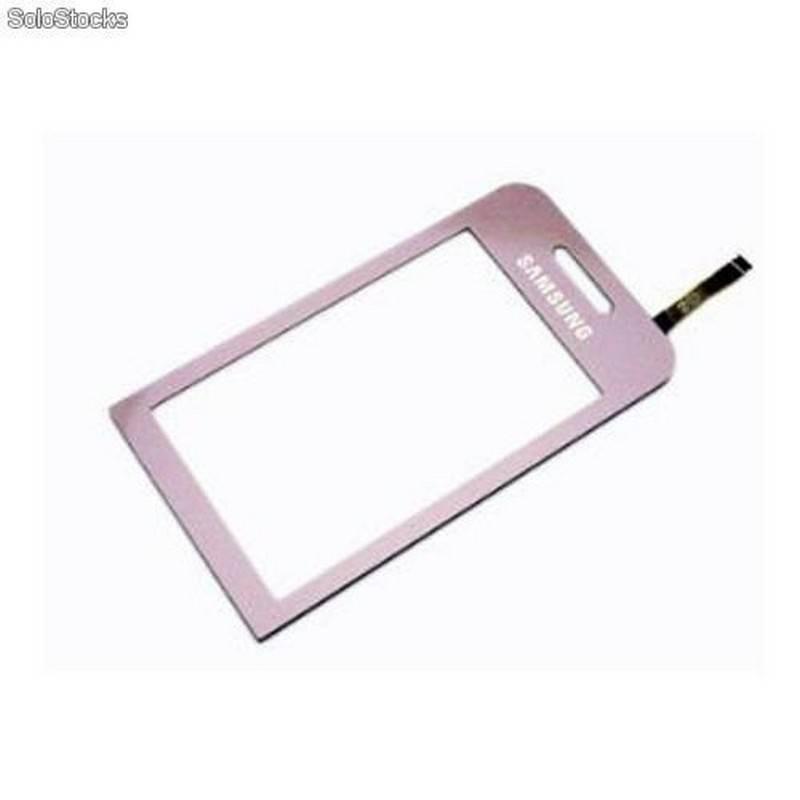 Samsung S5230 digitalizador ventana, ecrã tactil, ventana LCD cor ROSA