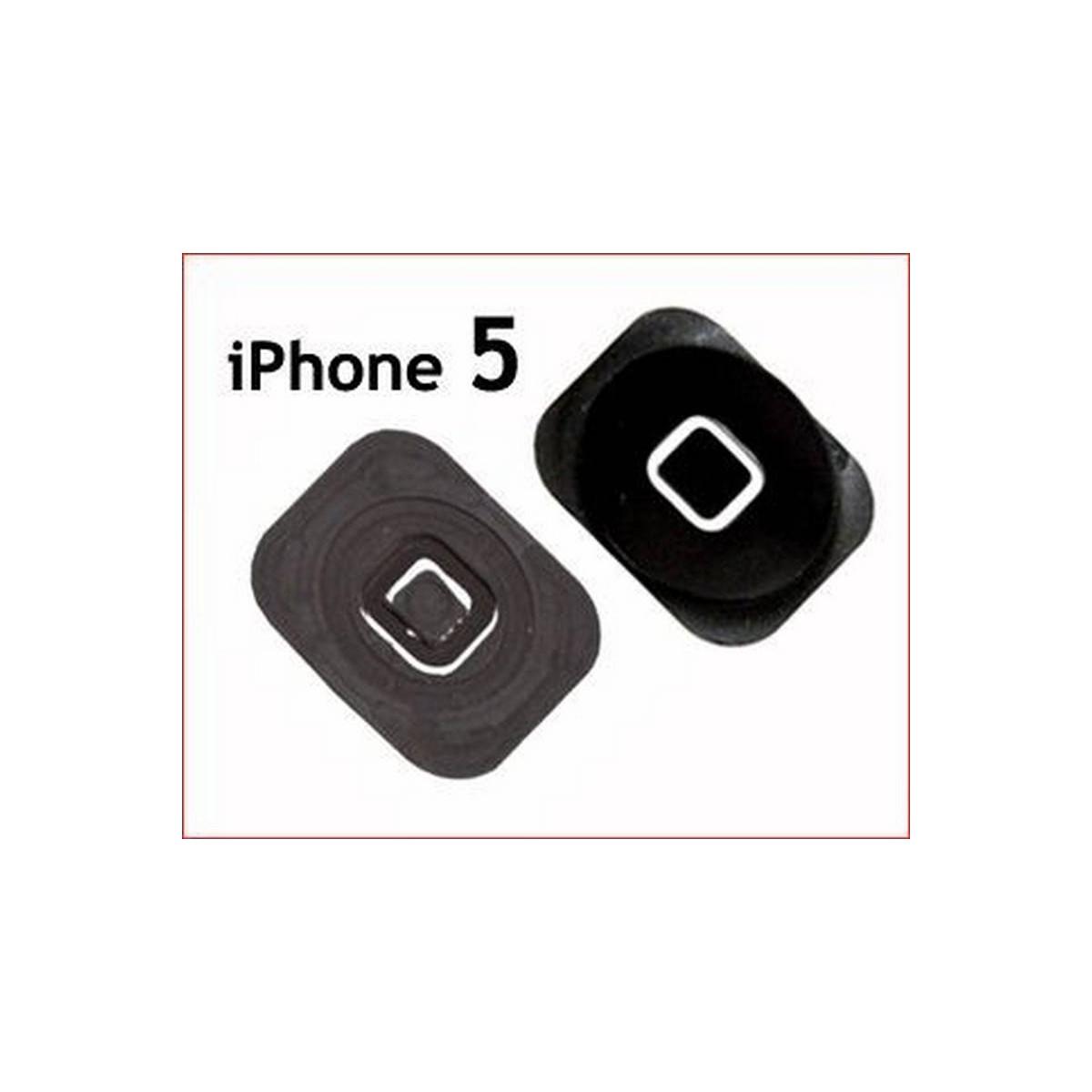 Botão de menú home preto para iphone 5