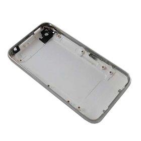 Tapa trasera blanca con marco metalico iphone 3GS de 8GS