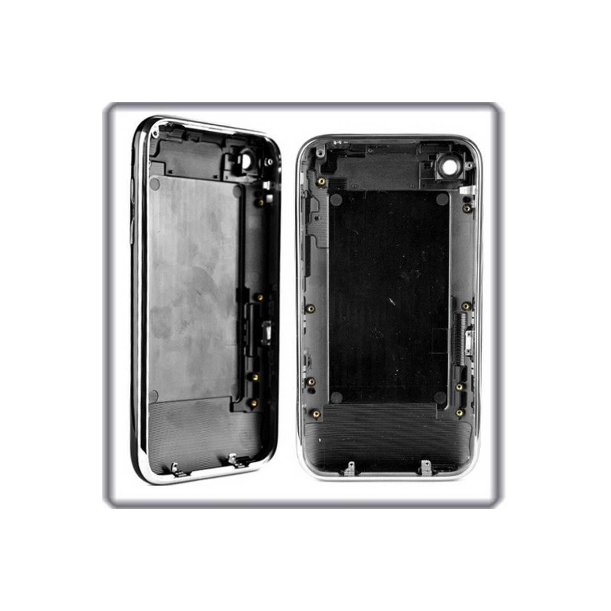 CARCASA traseira PRETO com marco metalico iphone 3GS de 32GB