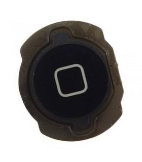 Botón de menú home negro para iPod Touch 4th generación