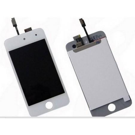 Pantalla (Display) completa para iPod Touch 4th generación en blanco
