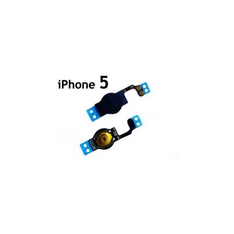 Cabo flex com interruptor home preto para iphone 5