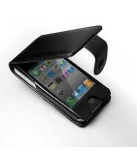 Funda Bateria con tapa 2200 mAh par iphone 4/4S, negra