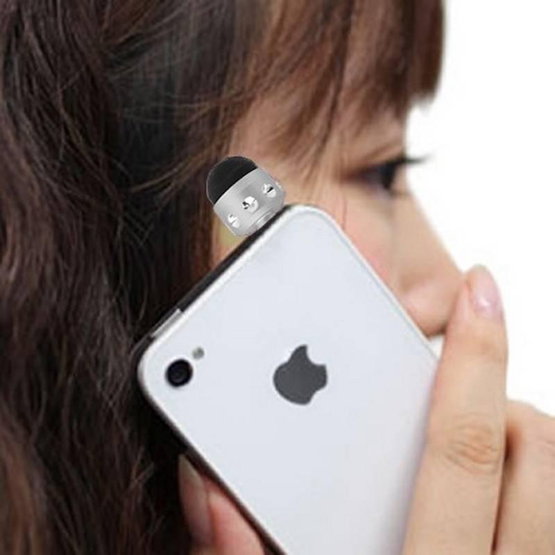 mini boli para iphone, ipad, ipod cor Gris